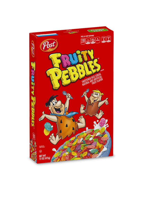Fruity Pebbles box