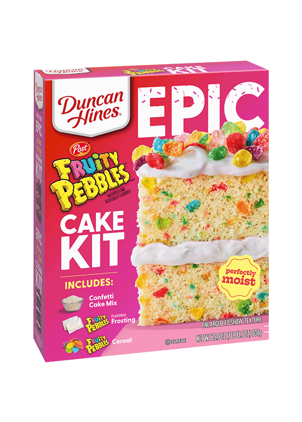 Fruity PEBBLES™ Cake Kit Product Package