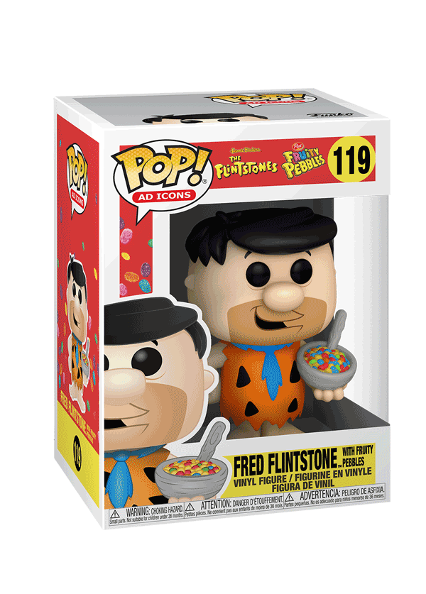 Funko Pop! Ad Icons: Fred with Fruity PEBBLES™
